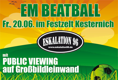 EM Beatball mit PUBLIC VIEWING